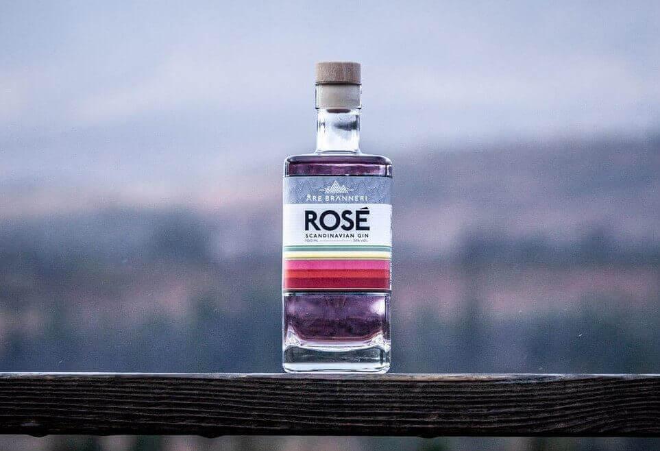 Åre Bränneri Rodé Gin didtilled gin
